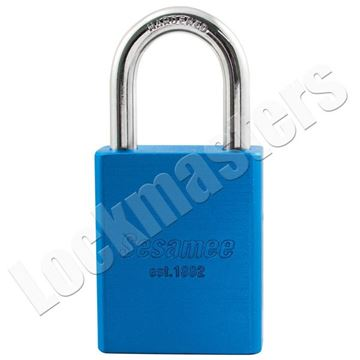 "Picture of CCL 900 Series 1-1/2"" Aluminum Safety Lockout Padlock with 1"" Shackle"