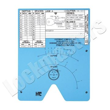 Picture of Blitz & Switch Blitz  Code Card National Cabinet, Standard Small Pin