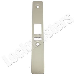 Picture of Ilco Deadlatch Flat Faceplate: Non Handed: Aluminum