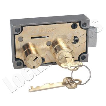 Picture of Diebold 175-05 Fixed Lever Safe Deposit Lock - Left Hand