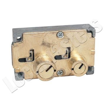 Picture of Diebold 175-70 Changeable Lever Safe Deposit Lock - Right Hand
