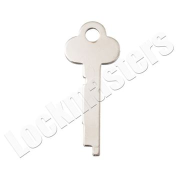 Picture of Guardian 6832 Safe Deposit Key Blank