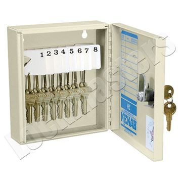Picture of Key Storage Cabinet - 8 Capacity