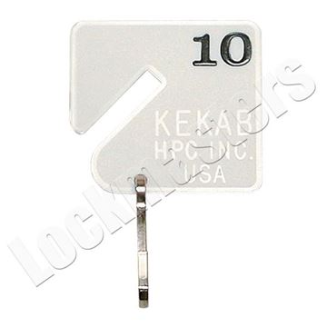 Picture of HPC Key Storage - Numbered Tags 1-120