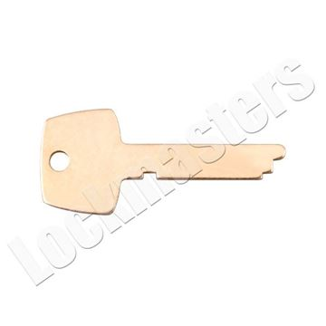 Picture of Kaba Ilco 5400 Safe Deposit Box 1333 Renter Key Blank (Priced per blank)