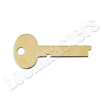 Picture of Kaba Ilco/S&G Safe Deposit Box 1396S Key Blank - Pack of 10 (Priced per blank)