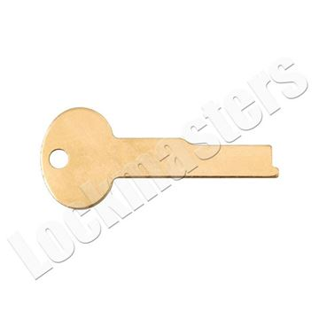 Picture of LeFebure 7300/7700 Series Safe Deposit Box LB7 Flat Renter & Guard Key Blanks - Price per Blank