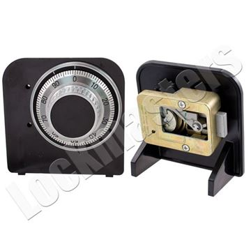 Picture of LaGard 3330 Mechanical Safe Lock Instructional Cut-A-Way Mounted Lock