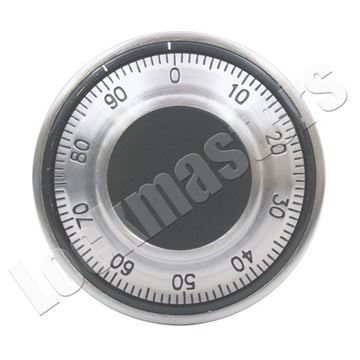 Picture of LaGard Front Reading Dial & Ring - Satin Chrome Finish