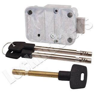 """Picture of LaGard 2200 Key Operated Lock with a Pair of 4"""" Keys"""