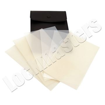 Picture of Mica Paper Set - 6 Pieces: 3 Thick & 3 Thin