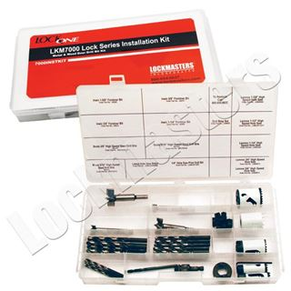 Picture of LKM10K Lock Series Metal & Wood Door Drill Bit Installation Kit