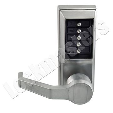 Picture of Kaba Mechanical Cylindrical Door Lock: Satin Chrome