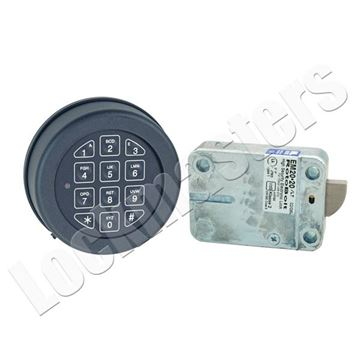 Picture of Lp Locks Roto Bolt Electronic Safe Lock Package - Black Keypad