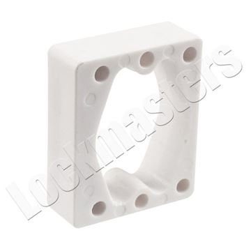 "Picture of Olympus Cabinet Lock Part - 1/2"" Spacer"