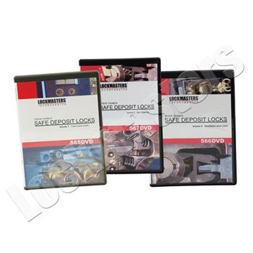 Picture of Safe Deposit Lock Training Set of 3 DVDs