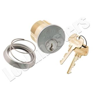 """Picture of Sargent 1-1/8"""" 6 Pin Mortise Cylinder """"LB"""" Keyway"""