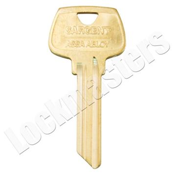 "Picture of Sargent 6 Pin Key Blank ""LB"" Keyway"