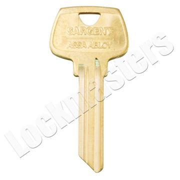 "Picture of Sargent 6 Pin Key Blank ""LE"" Keyway"