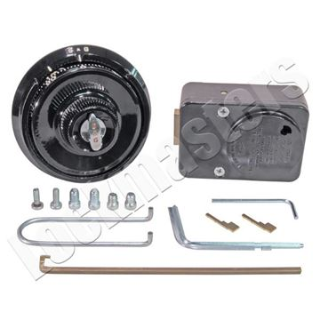 Picture of S&G 8410 Mechanical Lock Series, Group 1 Lock with Dial & Ring