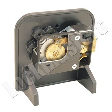 Picture of S&G 6700 Series Mechanical Safe Lock - Mounted Cut-A-Way