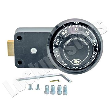 Picture of S&G 6700 Series Mechanical Safe Lock Package - Convertible Key Locking; Model 6730