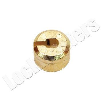 Picture of S&G 4442 & 4443 Series Safe Deposit Part - Renter Plug - Brass Finish