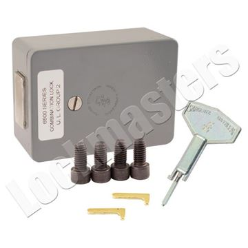 Picture of S&G 6530 Series Vault Lock with Square Bolt