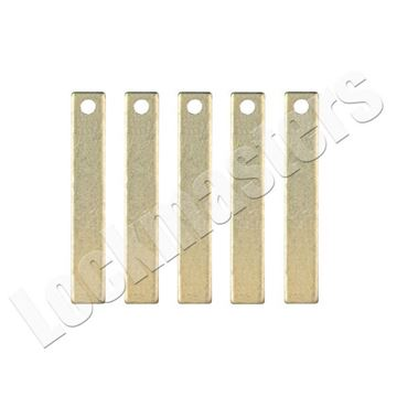 Picture of Framon Key Machines' Brass Shims - 5 Pack