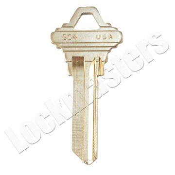 Picture of Taylor Schlage  Key Blank - Bulk 250 Pack