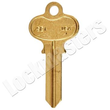 Picture of Taylor Segal Key Blank - Pack of 50