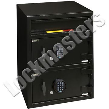 Picture of AMSEC B Rated Money Manager Series Undercounter Depository Safe - Front Drop