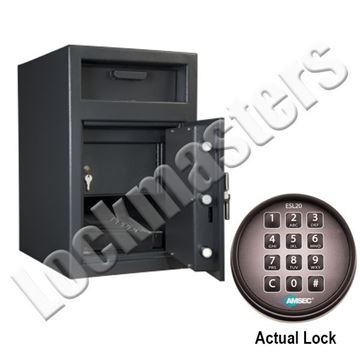 """Picture of AMSEC DS Series """"B"""" Rate Depository Safe - Front Loading"""