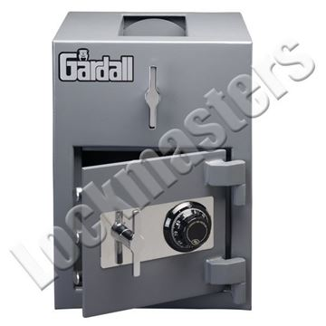 "Picture of Gardall 11"" H x 13"" W x 11"" D Light Duty  Depository Safe with S&G Group II Mechanical Lock"