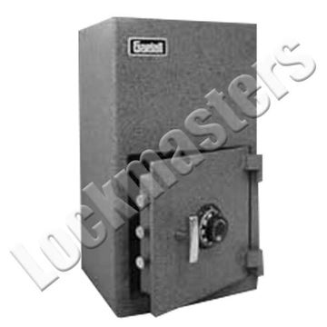 """Picture of Gardall 25"""" H x 14 ½"""" W x 13"""" D Single Door Heavy Duty Depository Safe  with Group II S&G Combination Lock"""