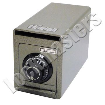 """Picture of Gardall 8""""H x 6""""W"""" x 12""""D Under Counter Depository Safe with S&G Combination Lock"""