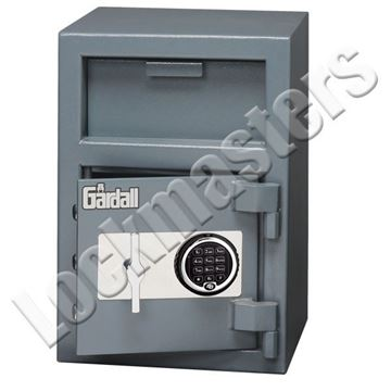 """Picture of Gardall 20""""H x 14""""W x 14""""D Undercounter Depository Safe with S&G Titan Electronic Lock"""