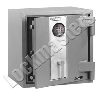 """Picture of AMSEC 19-1/2"""" H x 19-1/2 W x 16 1/4"""" D DXE Series TL-15 High Security Plate Safe with an AMSEC ESL10 Electronic Lock"""