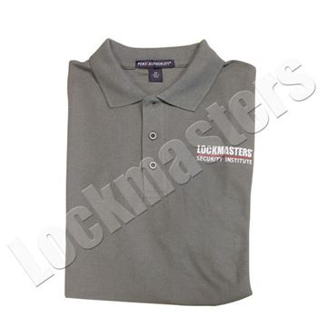 LSI Classic Steel Gray Logo Polo