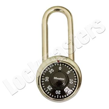 """Picture of Master Lock 1-7/8"""" Combination Padlock: 2"""" Shackle"""