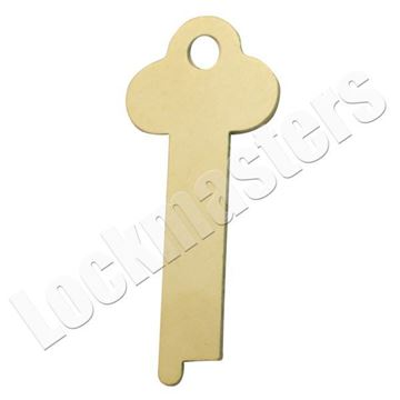Picture of Miscellaneous Safe Deposit Key Blank - .040 Thickness