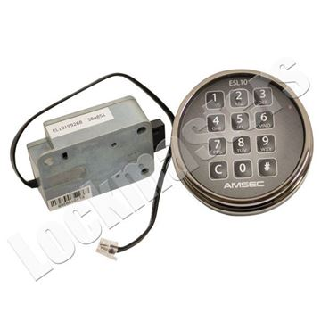 Picture of AMSEC  Electronic Combination Lock - Black Nickel Keypad