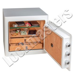 Picture of Gardall Jewelry Safe Pearl White Electronic Lock
