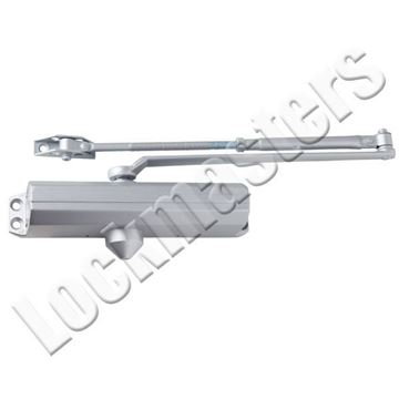 Picture of Dexter DCL2000 Series Light Duty Surface Door Closer - Aluminum NO Cover