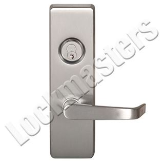 "Picture of Precision Olympian Series 4900 Trim with ""A"" Lever Trim for Exit Devices; Storeroom - Left Hand Reverse"