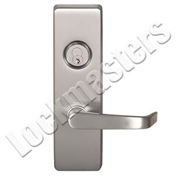 """Picture of Precision Olympian Series 4900 Trim with """"A"""" Lever Trim for Exit Devices; Storeroom - Left Hand Reverse"""
