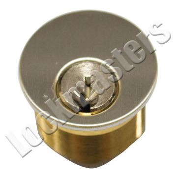 "Picture of Ilco 1"" Mortise Cylinder; Satin Chrome"