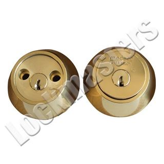 Picture of Residential Medeco³ Double Cylinder Maxum Deadbolt Lock, Less Bolt, Pinned