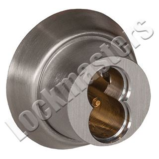 """Picture of Best Stanley Series E Tapered Mortise Housing Cylinder Diameter: 1-5/32""""  Satin Chrome"""