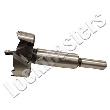 """Picture of Modified 1-5/8"""" Forstner Drill Bit - includes Pilot Hole Bit"""